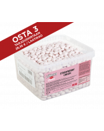 Läkerol Dents Strawberry Cream -ksylitolipastillien suurpakkaus