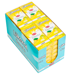 Läkerol Dents Lemon -ksylitolipastilli